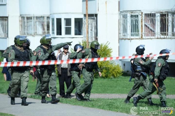 В Казани стреляют школьные стрелки