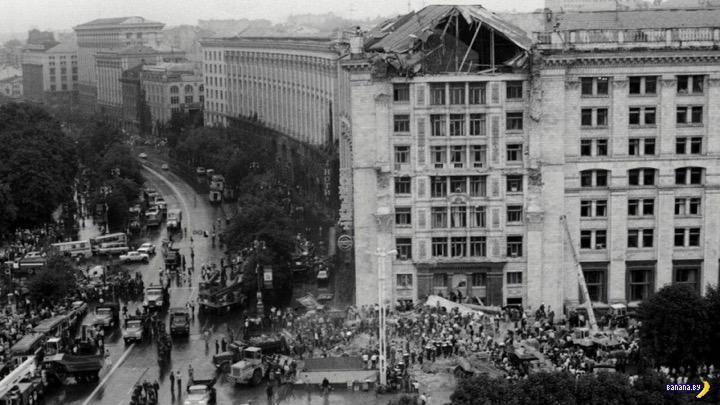 Трагедия в Киеве в 1989 году