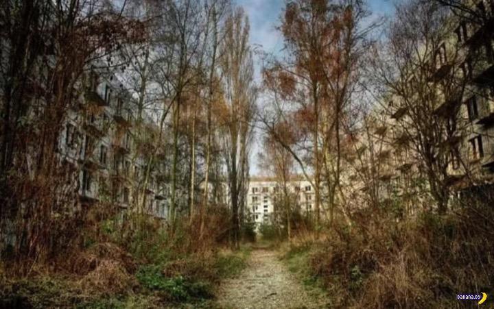 Заброшенный военный городок в Чехии