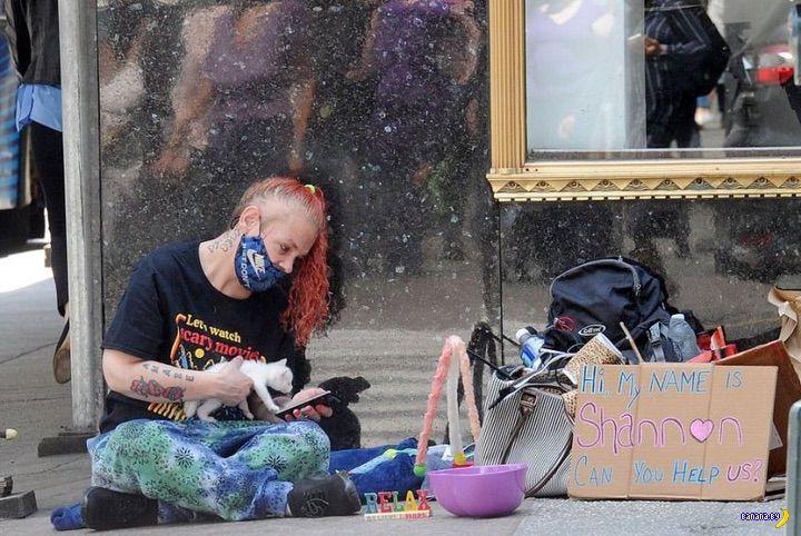 Нью-Йорк превращается в бомжатник