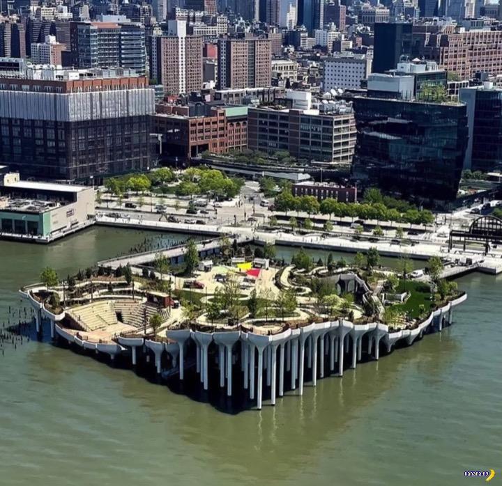 В Нью-Йорке построили новый парк