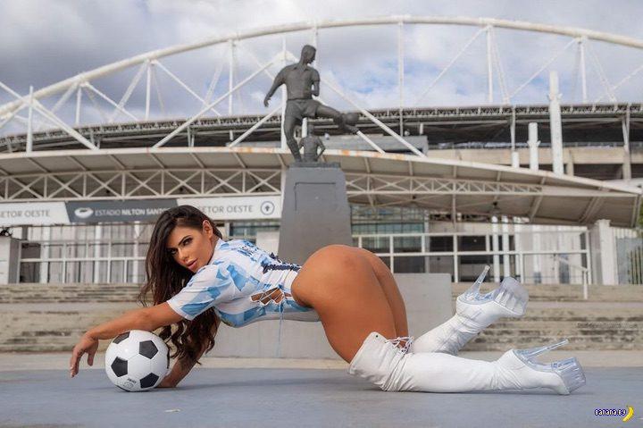 Сьюзи Кортес и футбол
