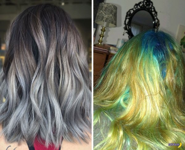 Краска для волос ошибок не прощает!