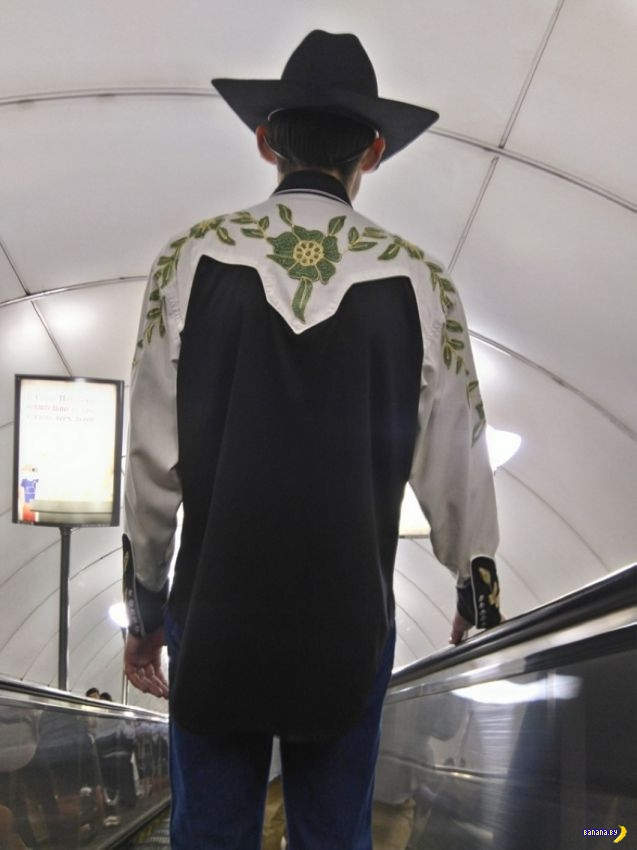 Модники в метро - 82