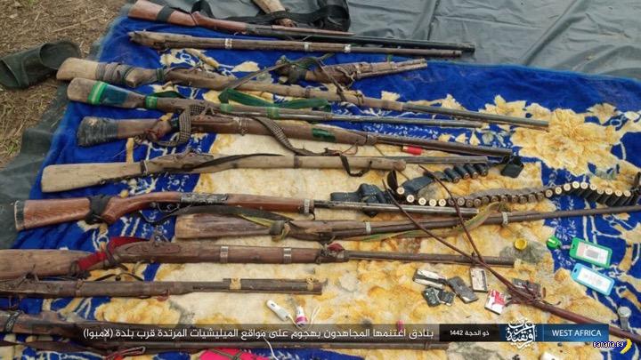 Антикварные ружья ИГИЛ из Африки