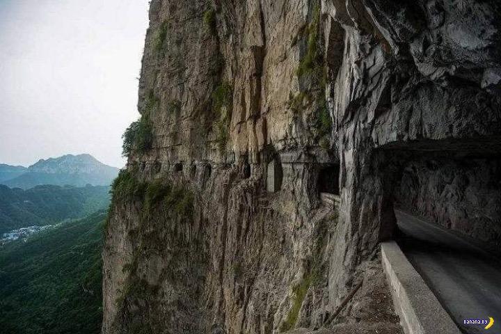 Деревенский тоннель в Китае