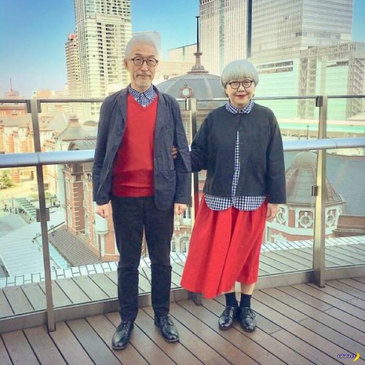 Сочетающаяся пара пенсионеров