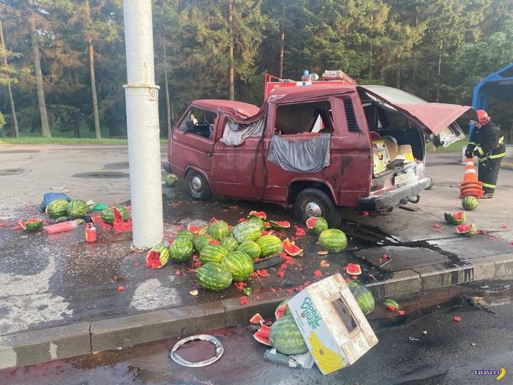 В Минске погибли десятки арбузиков!