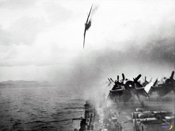 Насколько были эффективны лётчики-камикадзе?