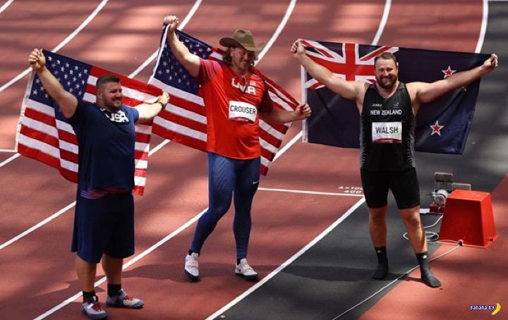 Сохранился олимпийский пьедестал!
