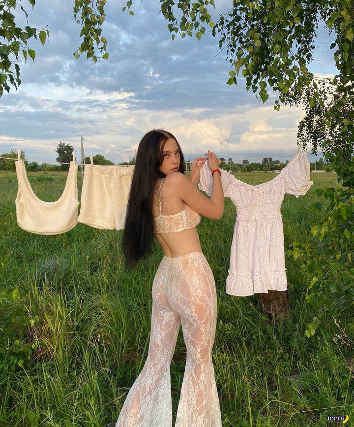 Модная селянка Настя