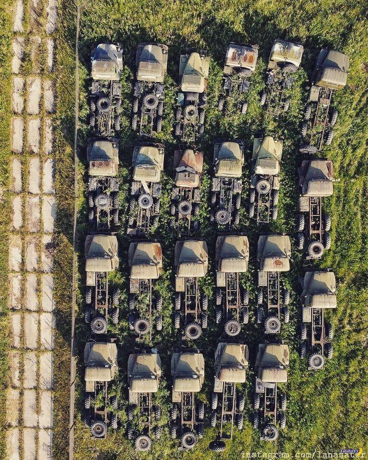 Заброшенные склады войск связи