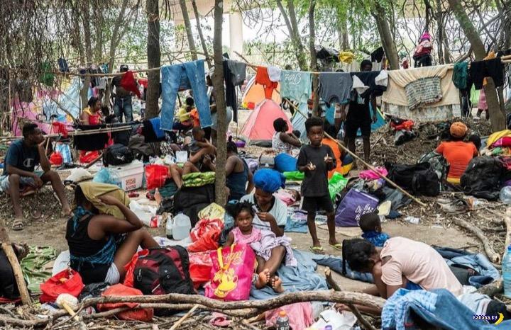 Кризис с мигрантами в Техасе