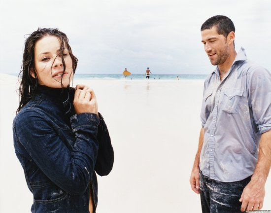 Evangeline Lilly & Matthew Fox - UHQ