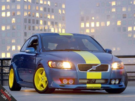 Пример тюнинга Volvo C30