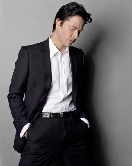 Keanu Reeves - photo by Max Vadukul 2004 Premiere /HQ/