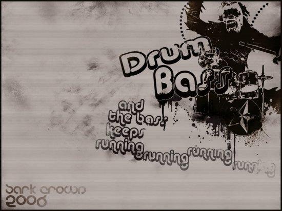 Обои Drum'N'Bass