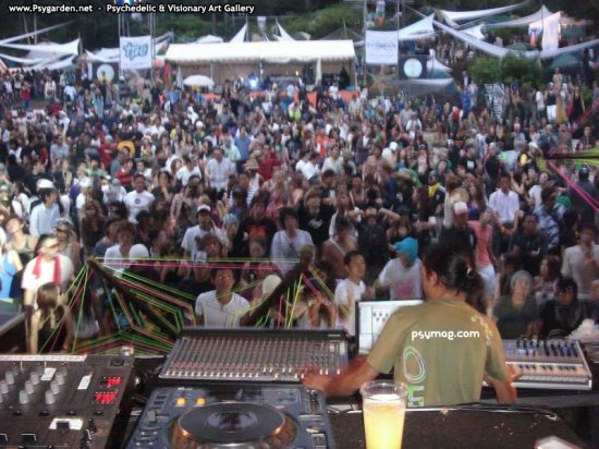 Japan. Trance-party.
