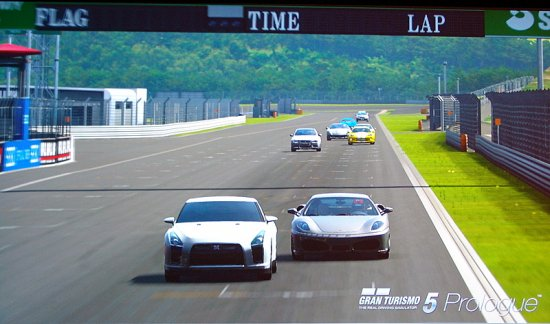 ��������� ����� ���������� ������� �� Gran Turismo 5: Prologue