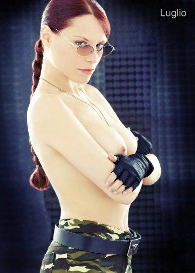 Сильвия Шон - новая Лара Крофт. Календарь на 2008 год.