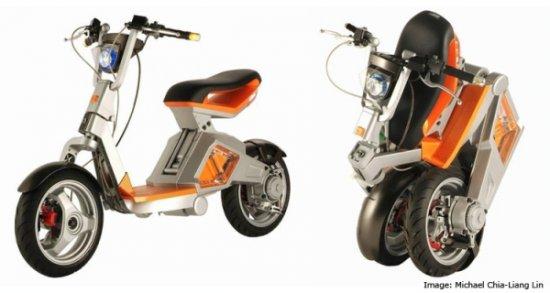 Робоскутер — электрический скутер-трансформер