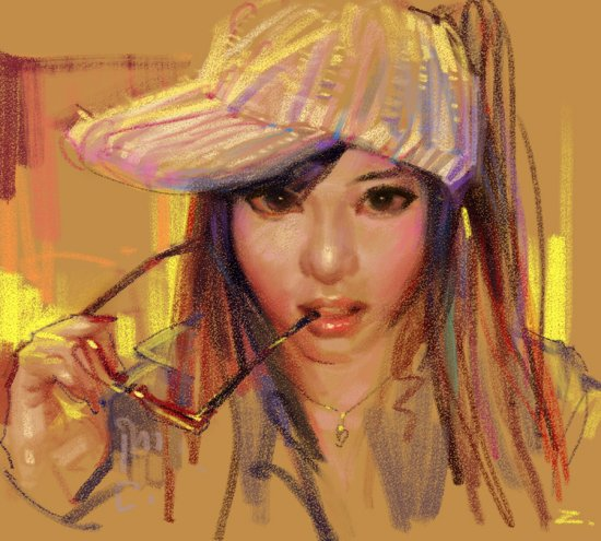 Zhuzhu's speedpaintings