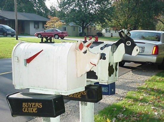 Подборка креативных почтовых ящиков