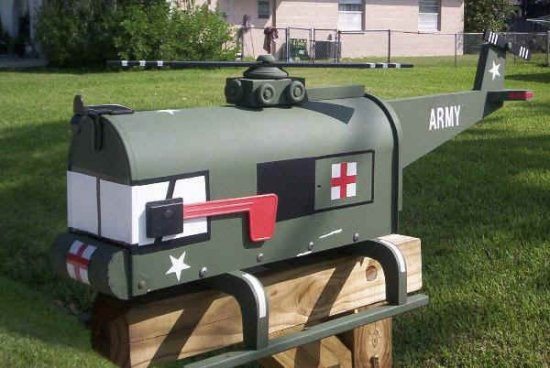 Подборка креативных почтовых ящиков -2