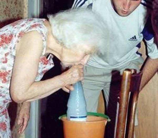 Бабушки отжигают (15 фото)