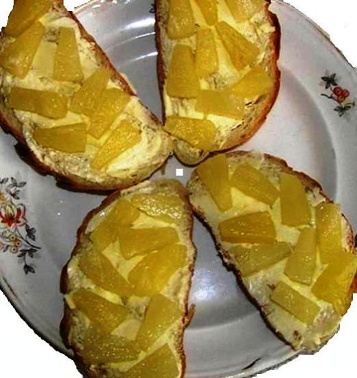 "К завтраку, ""вариант бутербродов""."