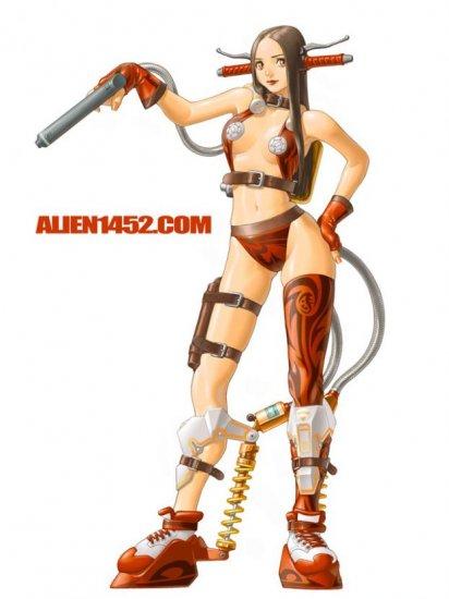 Alien1452 Works