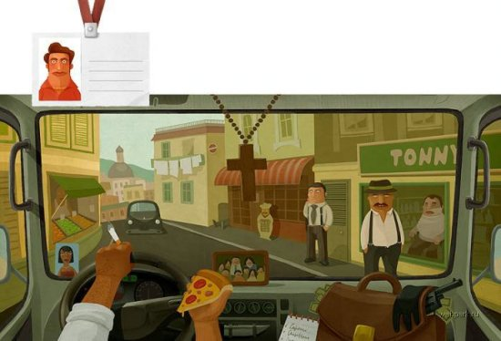 Взглянем на мир глазами водителей разных стран