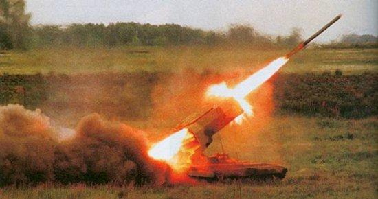 """Тяжёлая огнемётная система ТОС-1 - """"Буратино"""""""