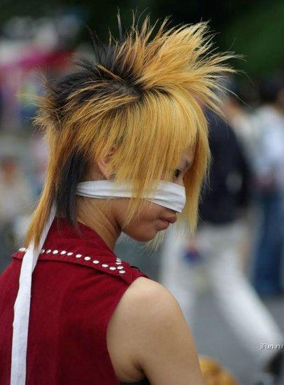 Безбашенные косплейщики из Японии.