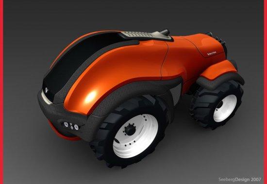 Valtra RoboTrac - концептуальный трактор