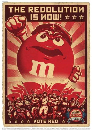 M&M's плакаты