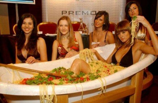 Итальянская паста против анорексии