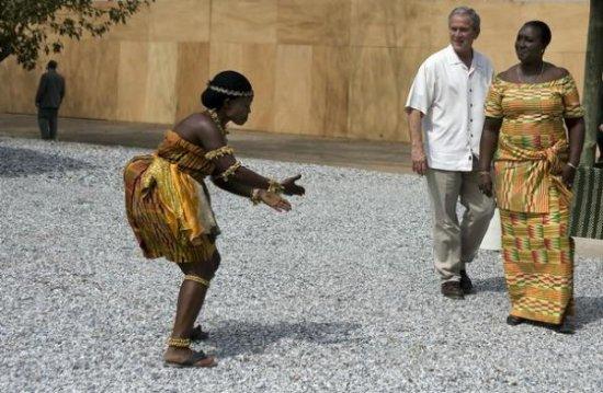 Как Буш Африку открыл...