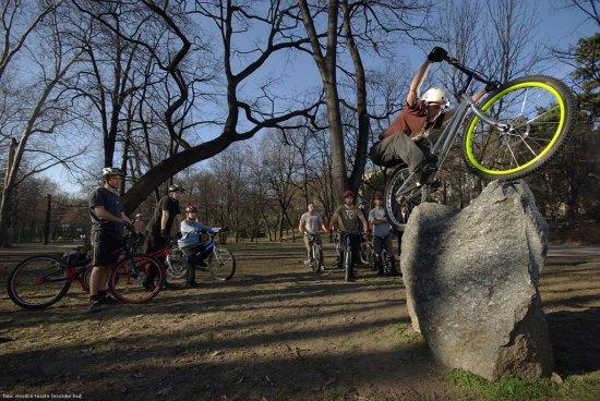 Велотриал. Качественные фотографии из Будапешта