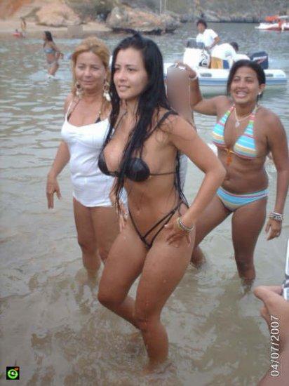 Пляжная выскочка :-)