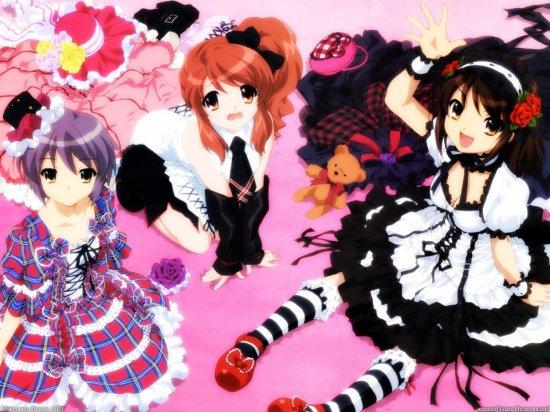 The Melancholy of Haruhi Suzumiya ~картинки~