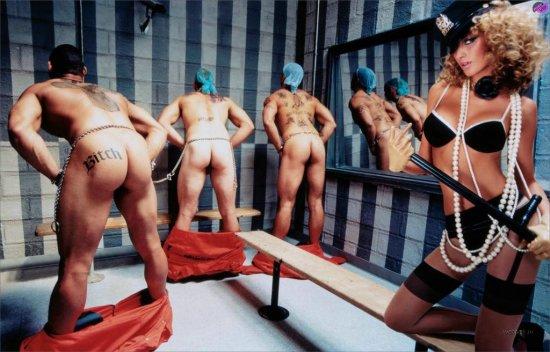 Жизель Бундхен на фотках от Давида Лашапеля