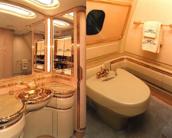 Личный самолет Брунайского Султана