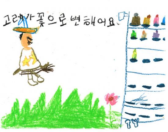 Фотографии на основе детских рисунков