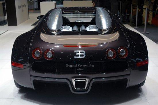 Эксклюзивный Bugatti Veyron Fbg par Hermes