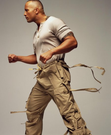 Dwayne 'The Rock' Johnson - Mark Seliger Photoshoot (7xHQ)