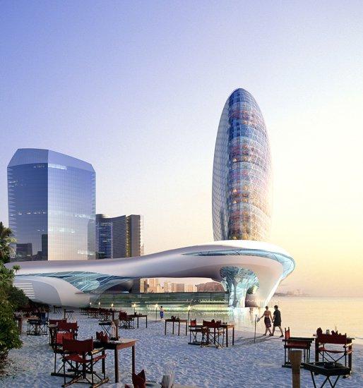 Проект отеля в Азербайджане