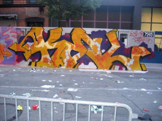 GRAFFITI of NewYork