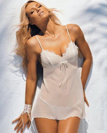 Daniela Pestova - La Senza lingerie shoot