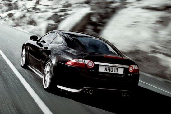 Купе Jaguar XKR-S — самый быстрый ягуар